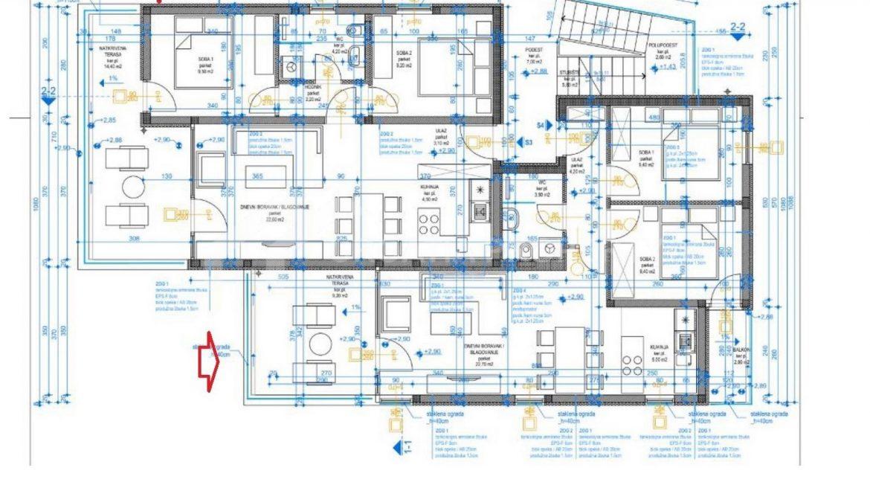 Seaview apartment Ciovo  - 2071 - photo (2)