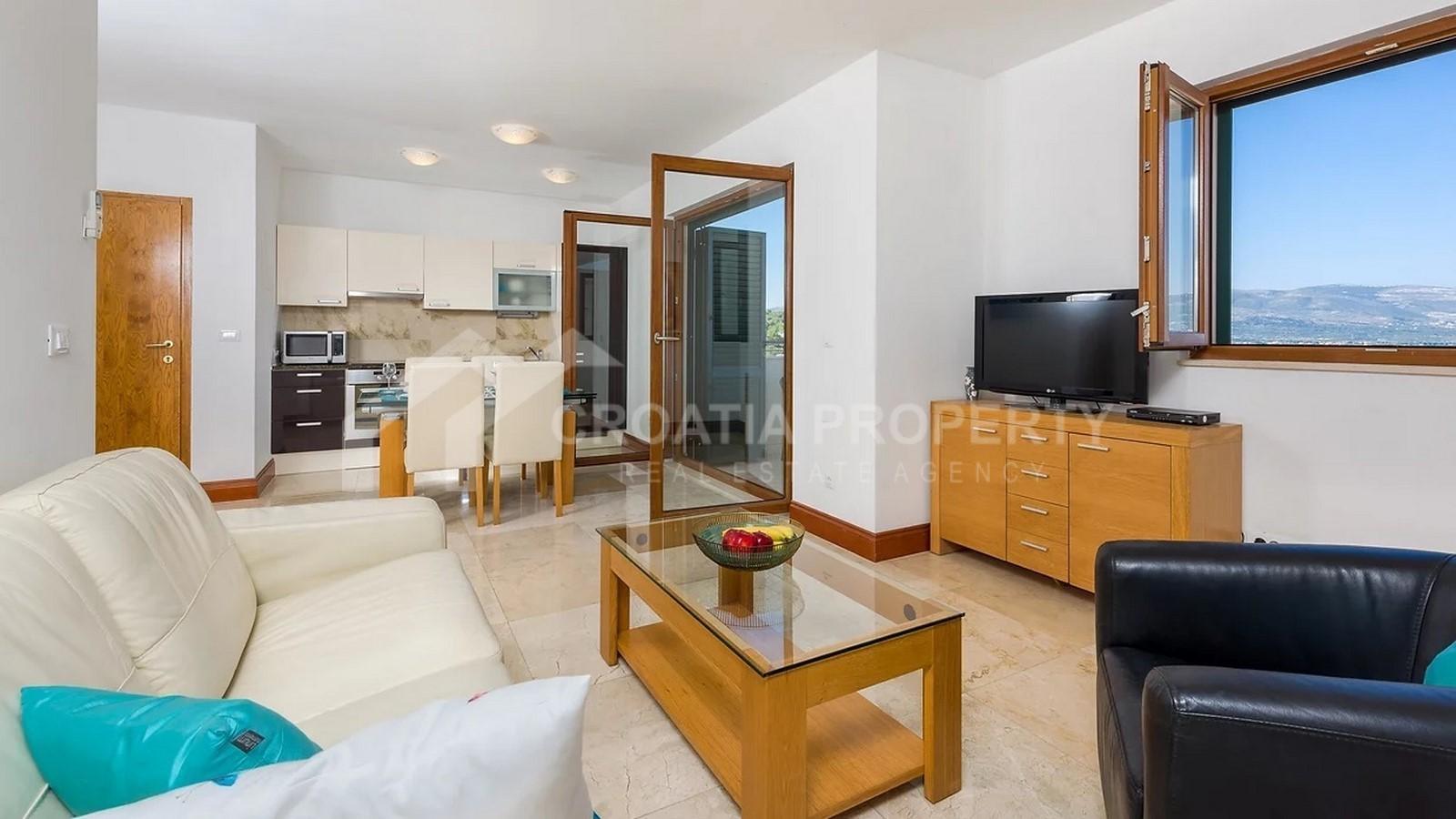 Wohnungen mit einem Schlafzimmer Meersnähe Ciovo