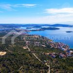 Excellent plot close to sea Rogoznica - 2075 - view (1)