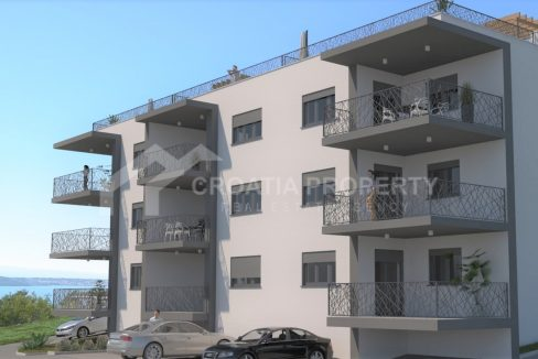New apartments close to sea Ciovo - 2099 - front view (1)