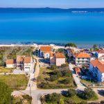Building land near beach Pašman - 2105 - air view (1)