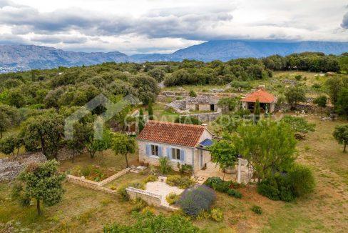 Beautiful property on Brač - 2113 - view (1)