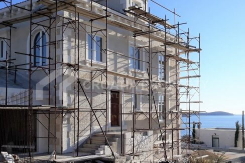 Stone villa with seaview Rogoznica - 2119 - side view (1)