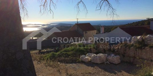 Building plot sea view Rogoznica