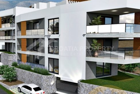 Three bedroom penthouse Trogir - 2145 - side view (1)