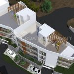 Two bedroom penthouses Trogir - 2140 - air view (1)