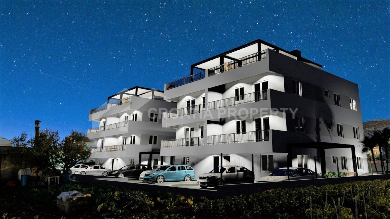 Penthouse apartments in Trogir
