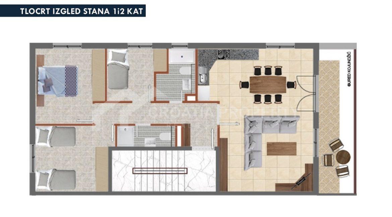 Penthouse Trogir - 2168 - photo (3)