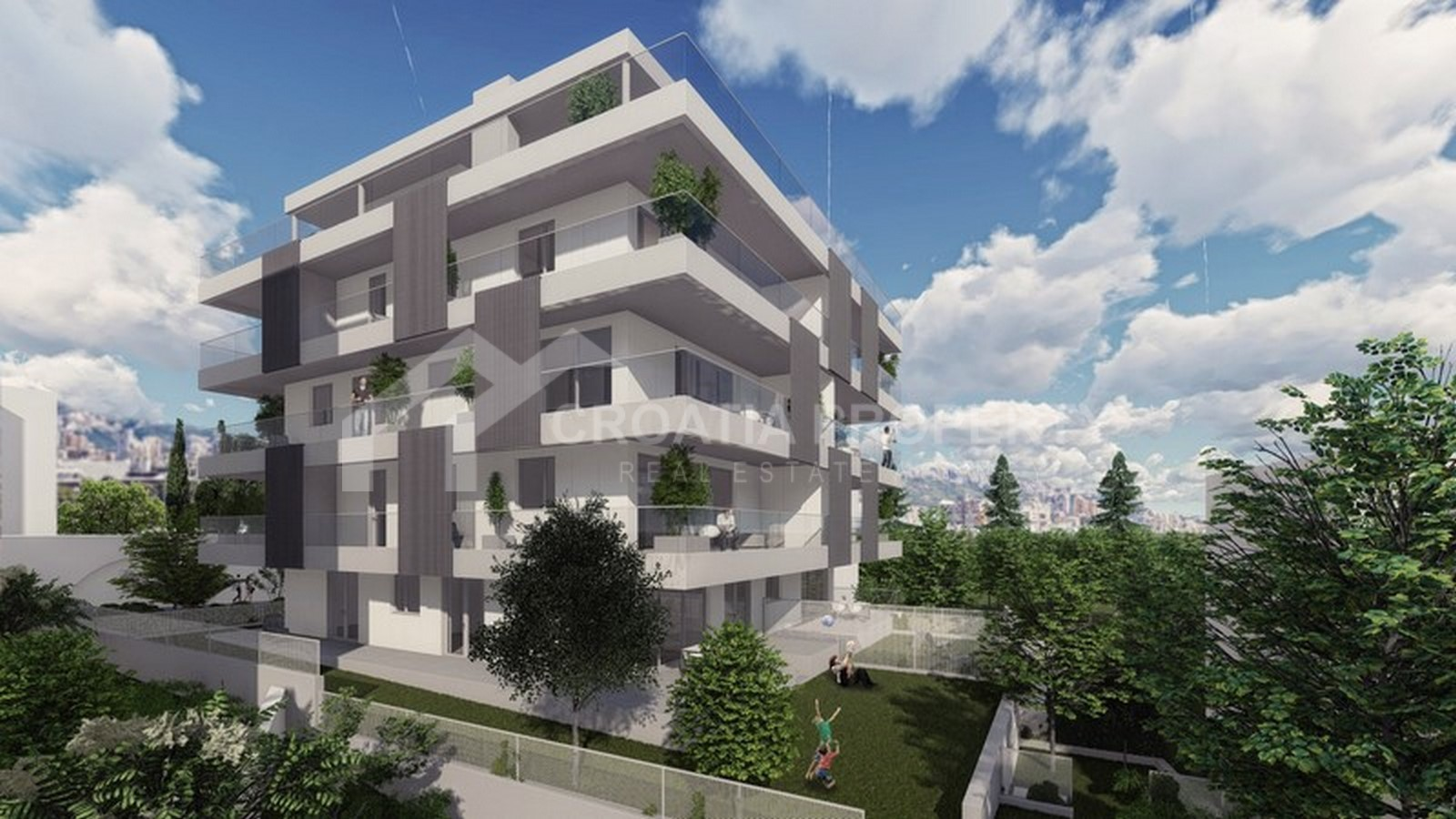 Newly built apartment in Split