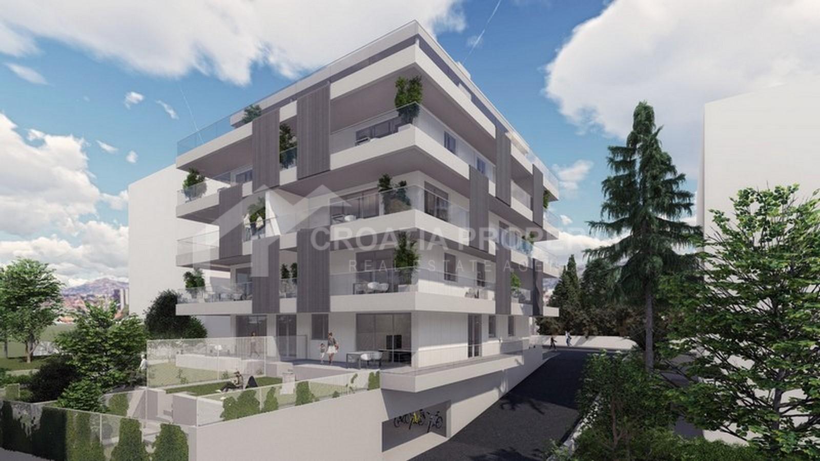 New construction in Hektorovićeva street