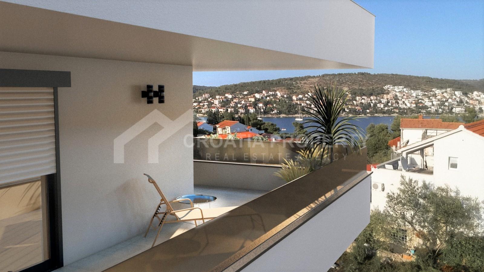 Penthouse with beautiful seaviews Ciovo