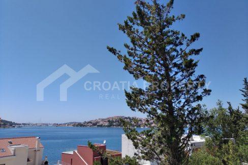 Plot close to sea Rogoznica for sale - 2233 - sea view (1)