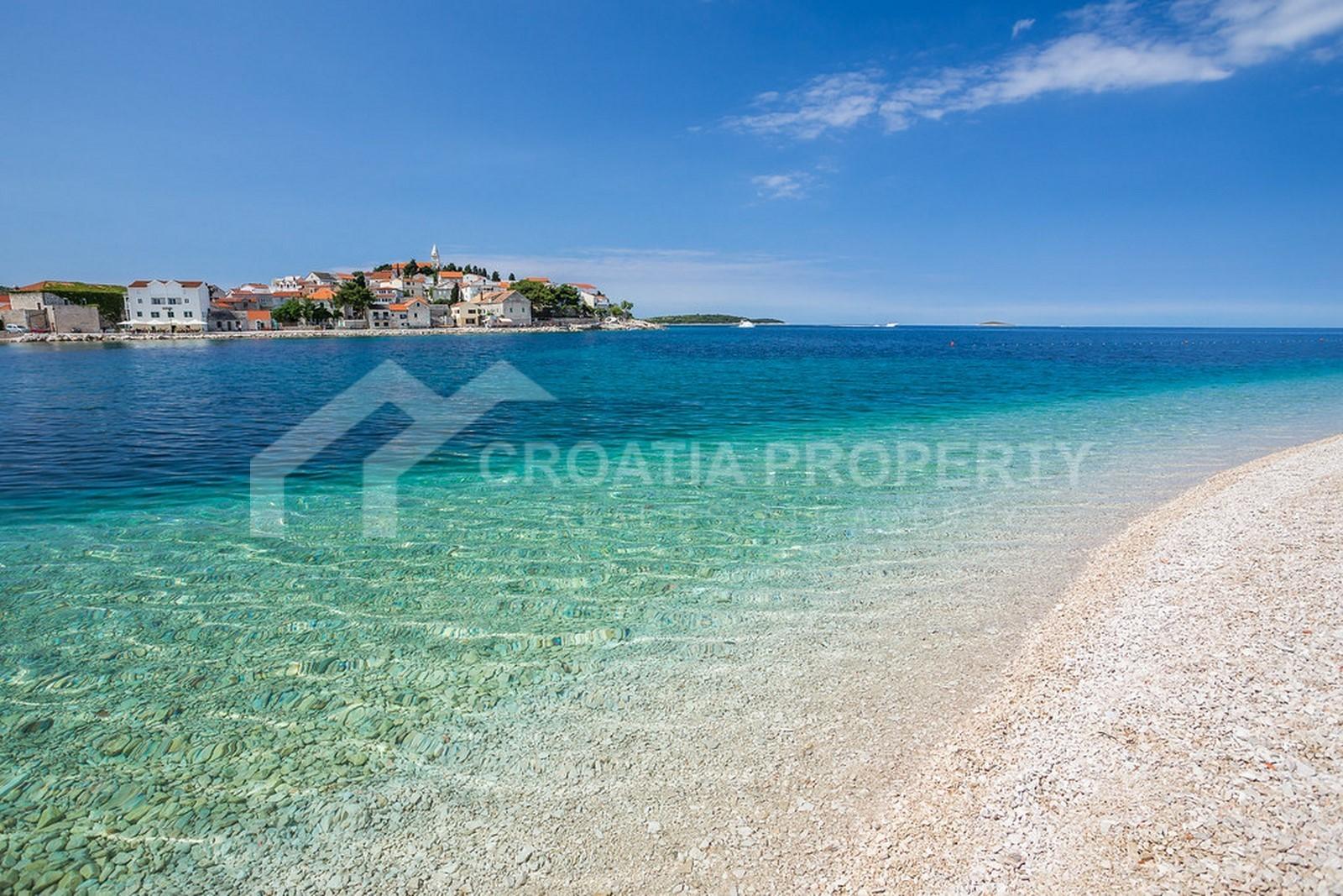 Waterfront plot in Primosten for sale