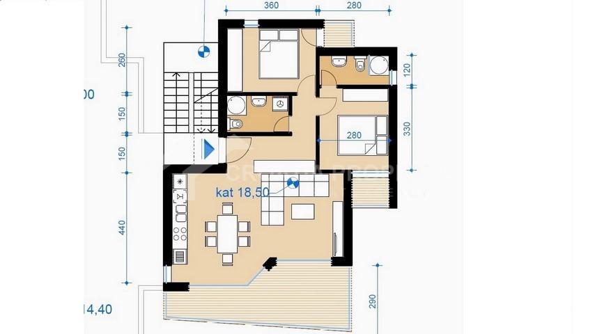 Ciovo apartment - 2239 - photo (6)