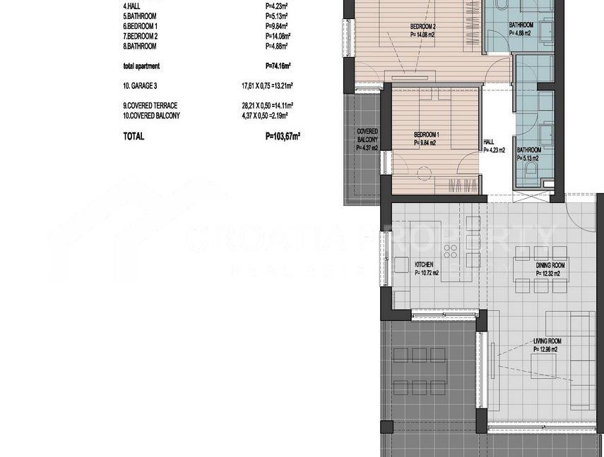 Lux apartment Ciovo - 2257 - photo (3)