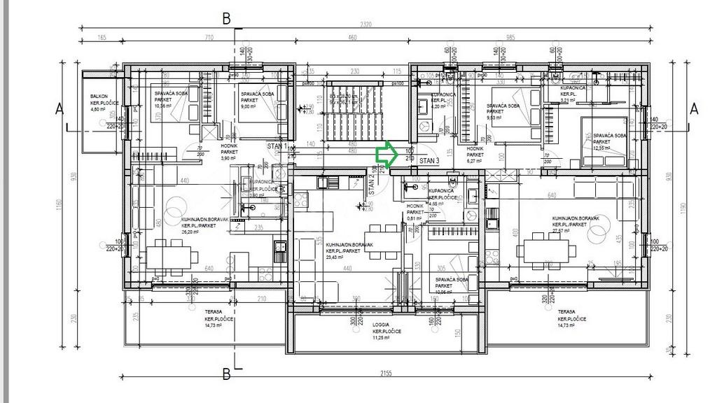 Penthouse apartment Ciovo - 2253 - photo (4)